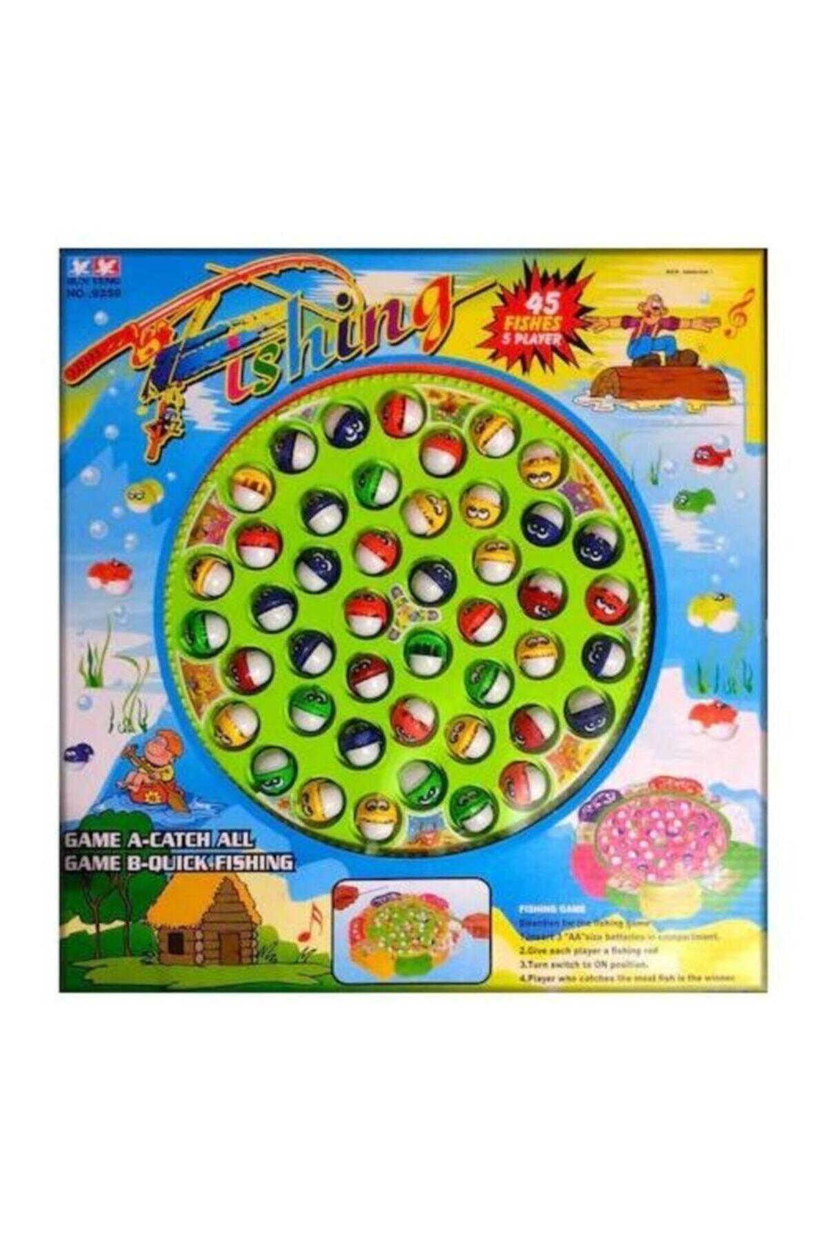 SUDEN Jumbo Boy 45 Balıklı Balık Tutma Oyunu Oyuncak 1
