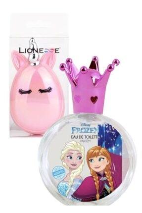 Disney Frozen Elsa 50 Ml Çocuk Parfüm+unicorn Fırça Seti
