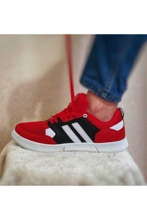 Strong Erkek Kırmızı Siyah Günlük Spor Ayakkabı