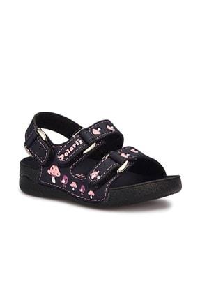 Polaris Kız Çocuk Siyah Günlük Sandalet