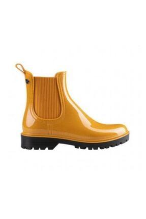 IGOR Kadın Sarı Simli Trak Glitter Yağmur Çizmesi W10218