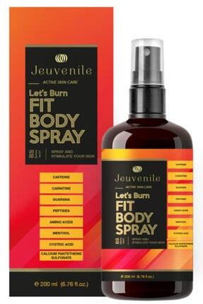 Jeuvenile Spor Öncesi Yağ Yakım Hızlandırıcı & Canlandırıcı Vücut Spreyi - Fit Body Spray 200 ml