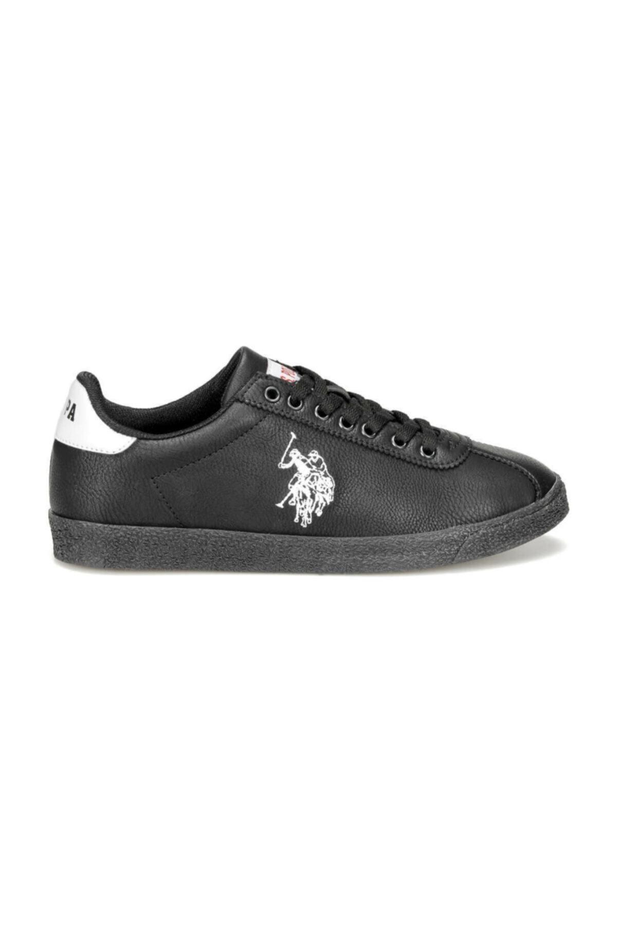 U.S. Polo Assn. TABOR WT 9PR Siyah Kadın Sneaker Ayakkabı 100422468 2
