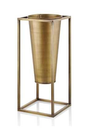 The Mia Vazo 80 x 30 x 30 Cm Gold