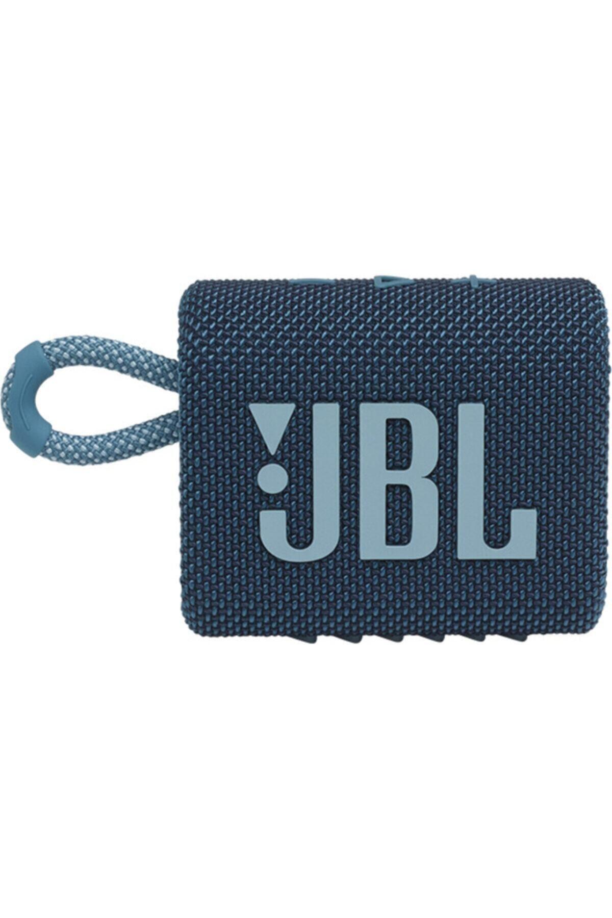JBL Go 3 Mavi Bluetooth Hoparlör 2