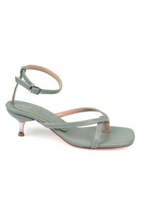 Capone Outfitters Kadın Metal Topuklu Sandalet