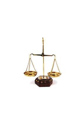 MAG DESIGN Adalet Biblosu Ahşap Terazi 10 Gr