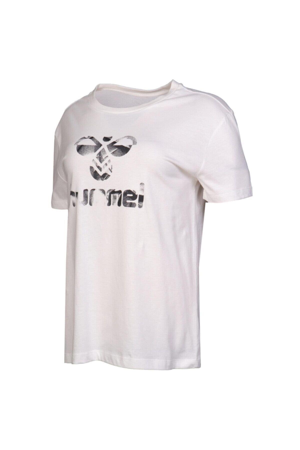 HUMMEL Kadın Beyaz Tişört 911033-9003 1