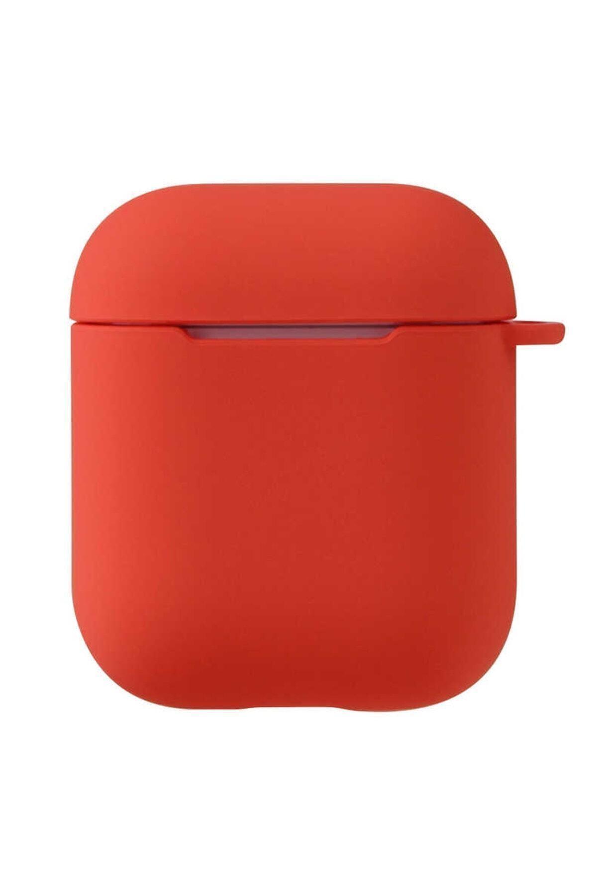 Sunix Airpods  Uyumlu 2. Nesil Kılıf Pastel Renkli Silikon Koruma Kopçalı 1