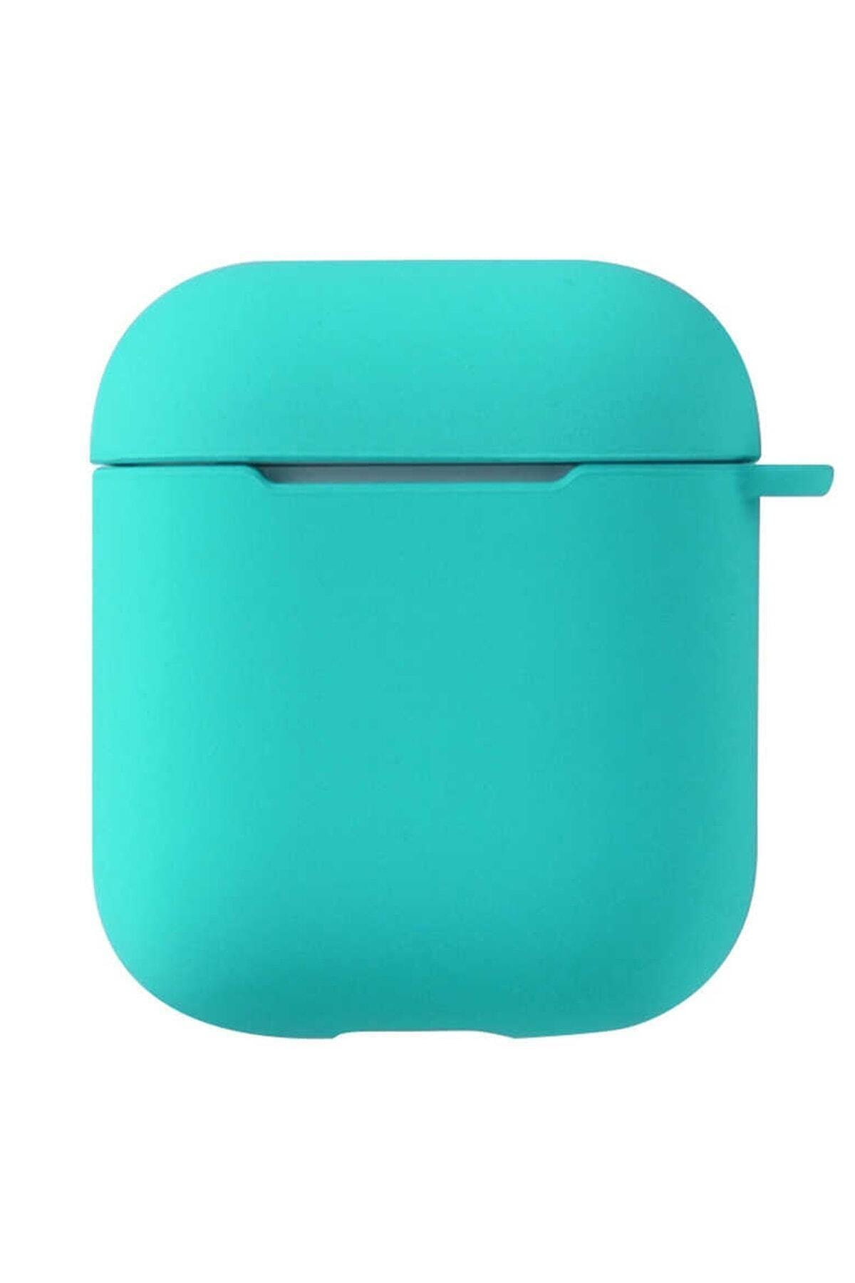 Sunix Airpods 2. Nesil Uyumlu Pastel Renkli Silikon Koruma Kopçalı Kılıf 1