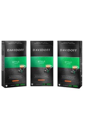 Davidoff Lungo Style Kapsül Kahve 3x10 Adet (nespresso Uyumlu)