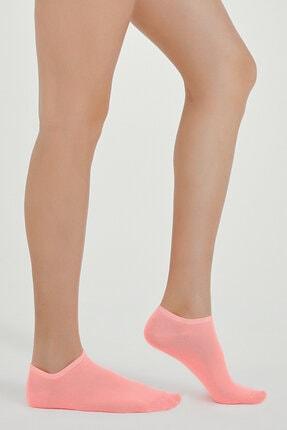 Penti Kadın Açık Pembe-gri Color 2li Patik Çorap