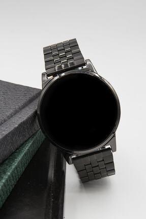 Spectrum Unisex Siyah Çelik Dokunmatik Kol Saati