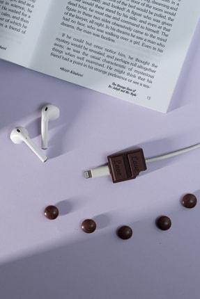 mooodcase Silikonlu Çikolata Kablo Koruyucu