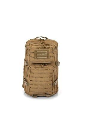 Mil-Tec Lazer Kesim Bej Tactical Askeri-seyahat-dağcı 50 Litre Outdoor Sırt Çantası