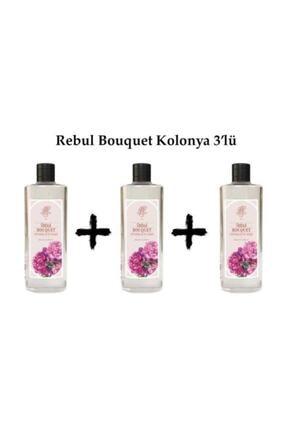 Rebul Kolonya 270 ml Bouquet 3 Adet
