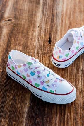 MUGGO Mgcrs38 Unisex Çocuk Sneaker Ayakkabı