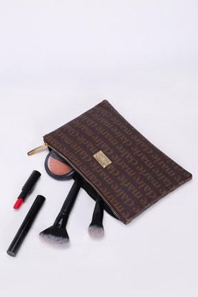 Marie Claire Kadın Kahverengi  Makyaj Çantası Lola Mc212111012