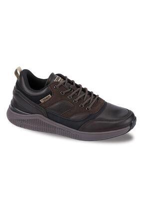 Jump Erkek Kahve Sneaker 25548