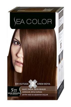 Sea Color Set Saç Boyası 5/77 Sıcak Çikolata