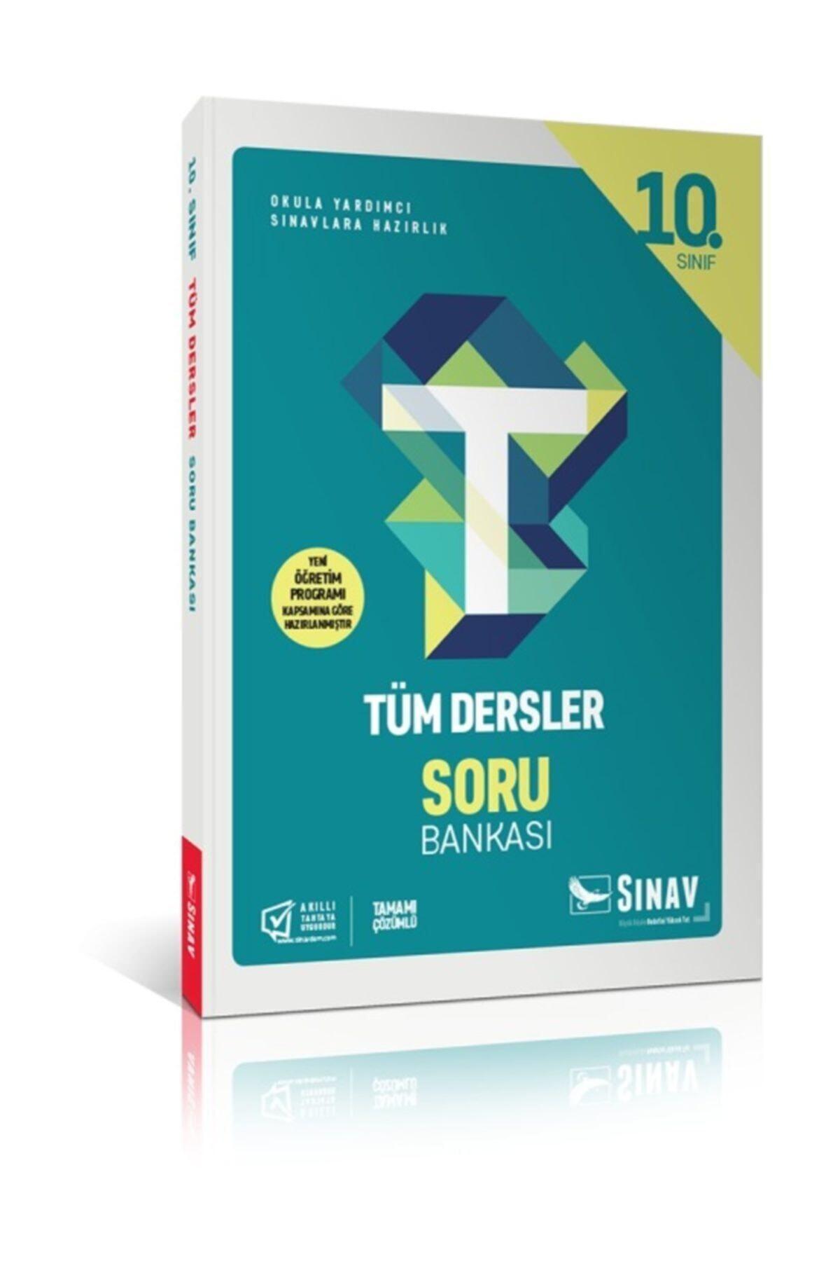 Sınav Yayınları Sınav 10.sınıf Tüm Dersler Soru Bankası 1