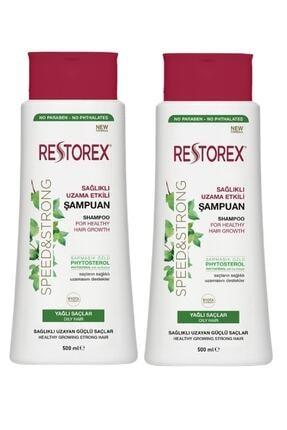 Restorex Yağlı Şampuan 500 + 500 Ml