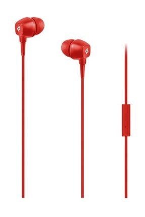 Ttec Kırmızı Pop Mikrofonlu Kulakiçi Kulaklık 3.5mm