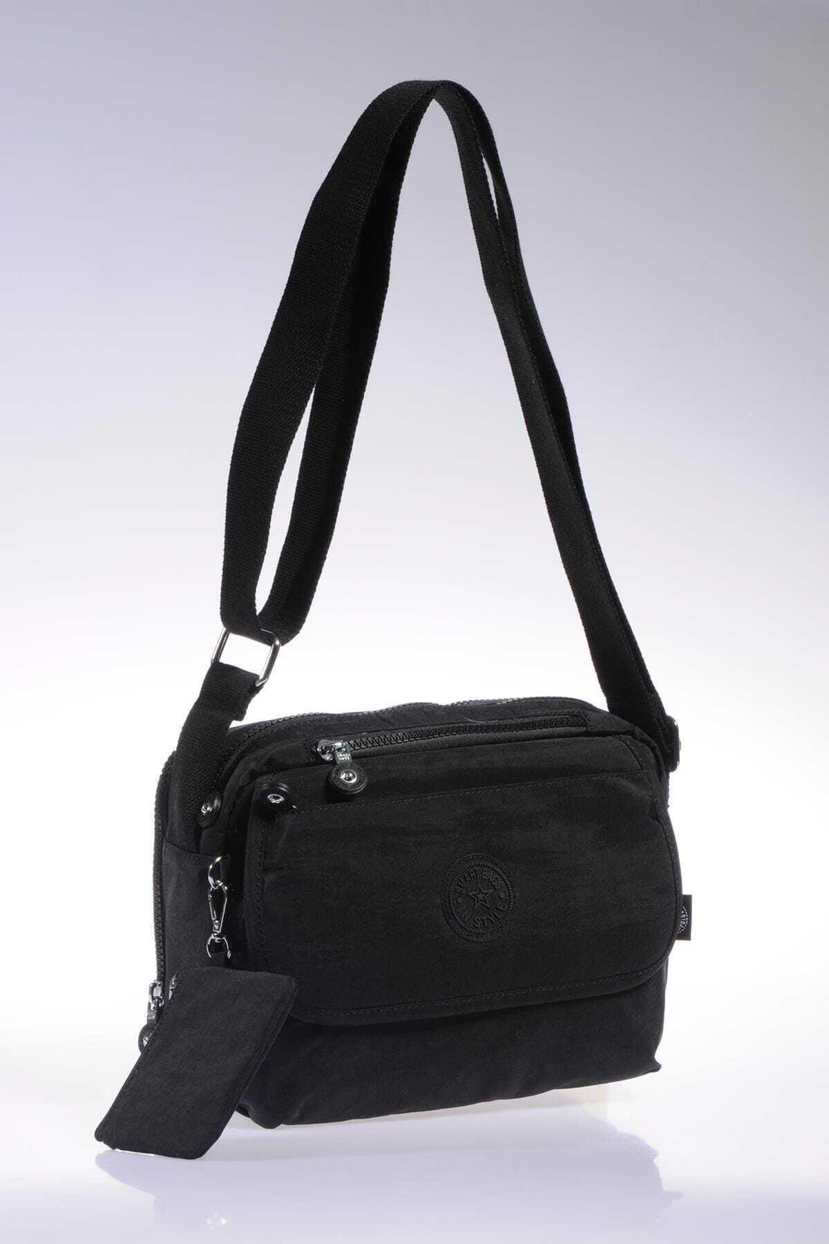 SMART BAGS Smb1172-0001 Siyah Kadın Çapraz Çanta 2