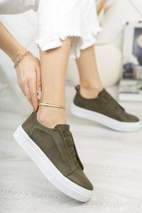 Chekich Ch013 Kadın Ayakkabı Haki