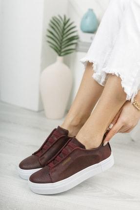 Chekich Ch011 Kadın Ayakkabı Bordo