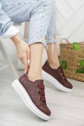 Chekich Ch253 Kadın Ayakkabı Bordo