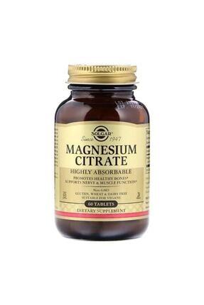 Solgar Magnesium Citrate 200 mg 60 Tablet