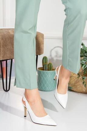 derithy Ofera Topuklu Ayakkabı-beyaz Ruga-byc1103