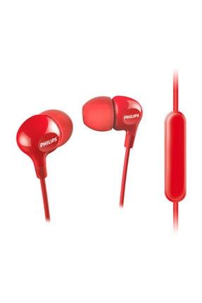 Philips She3555rd Mik Kulakiçi Kulaklık - Kırmızı