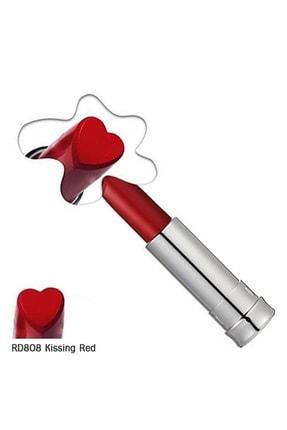 Holika Holika Heartful Moisture Lipstick Rd808 Kissing Red Nemlendirici Ruj