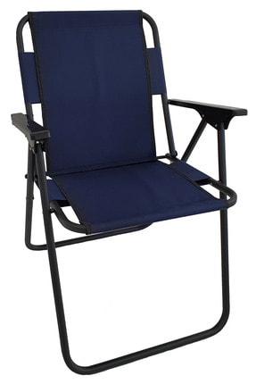 Bofigo Kamp Sandalyesi Katlanır Sandalye Piknik Sandalyesi Plaj Sandalyesi Lacivert.