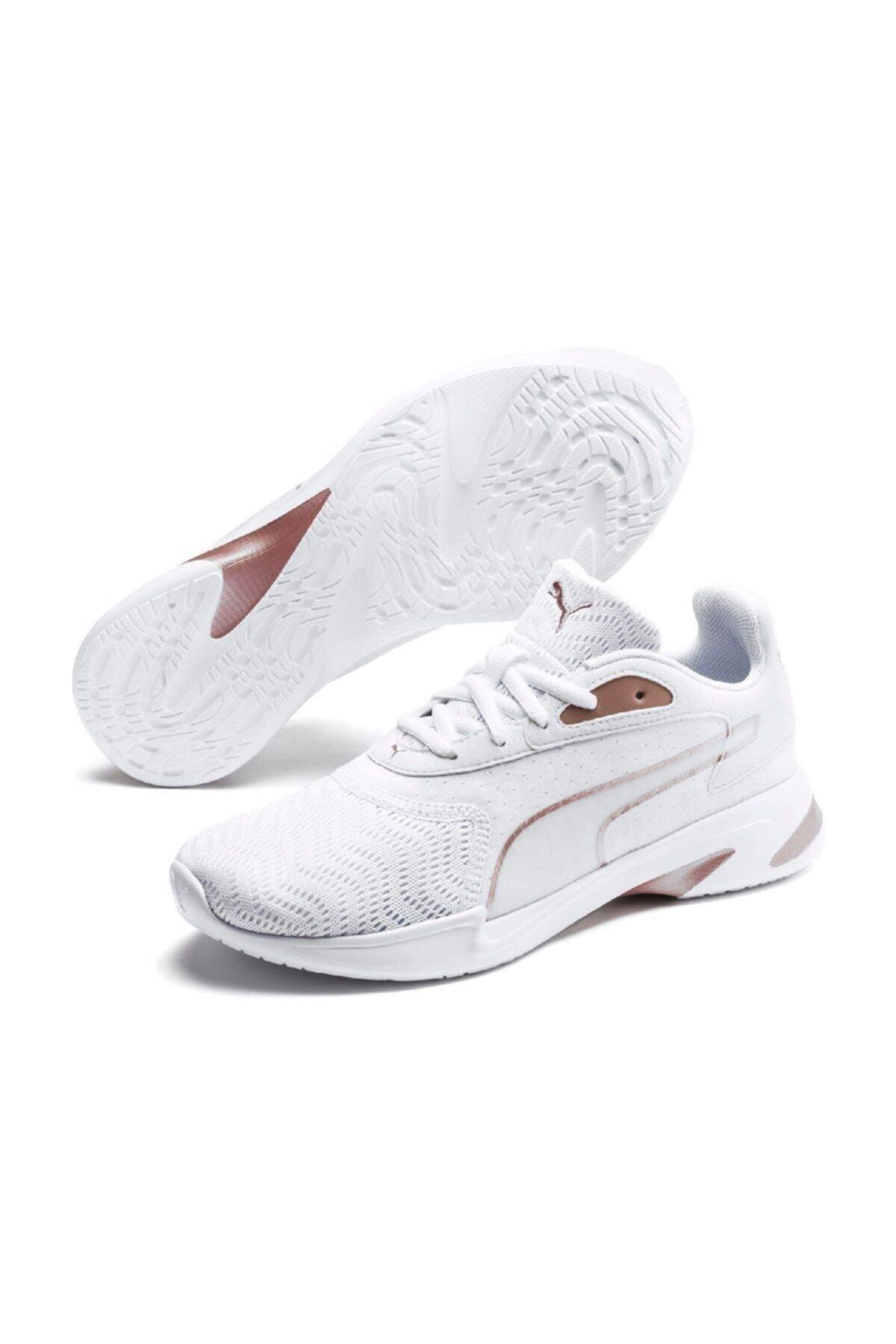 Puma JAROMETAL WNS Beyaz Kadın Koşu Ayakkabısı 100547118 2