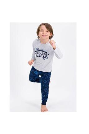 ROLY POLY Erkek Çocuk Pijama Takımı Gri