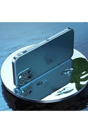 CoverStation Iphone 12 Pro Uyumlu İnce Mat Darbe Emici Lens Koruyucu Çiziklere Dayanıklı Silikon Kılıf