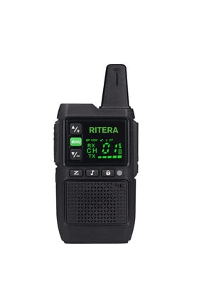 RİTERA R-111 Gizli Ekranlı Pmr El Telsizi (tekli)