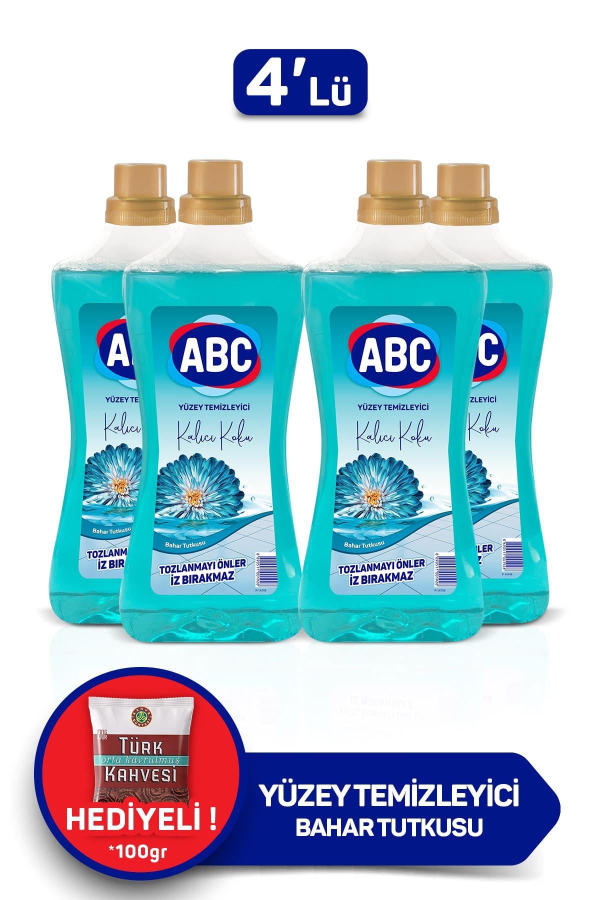 ABC Yüzey Temizleyici -  Bahar Tutkusu 2,5 lt x 4 Adet 1