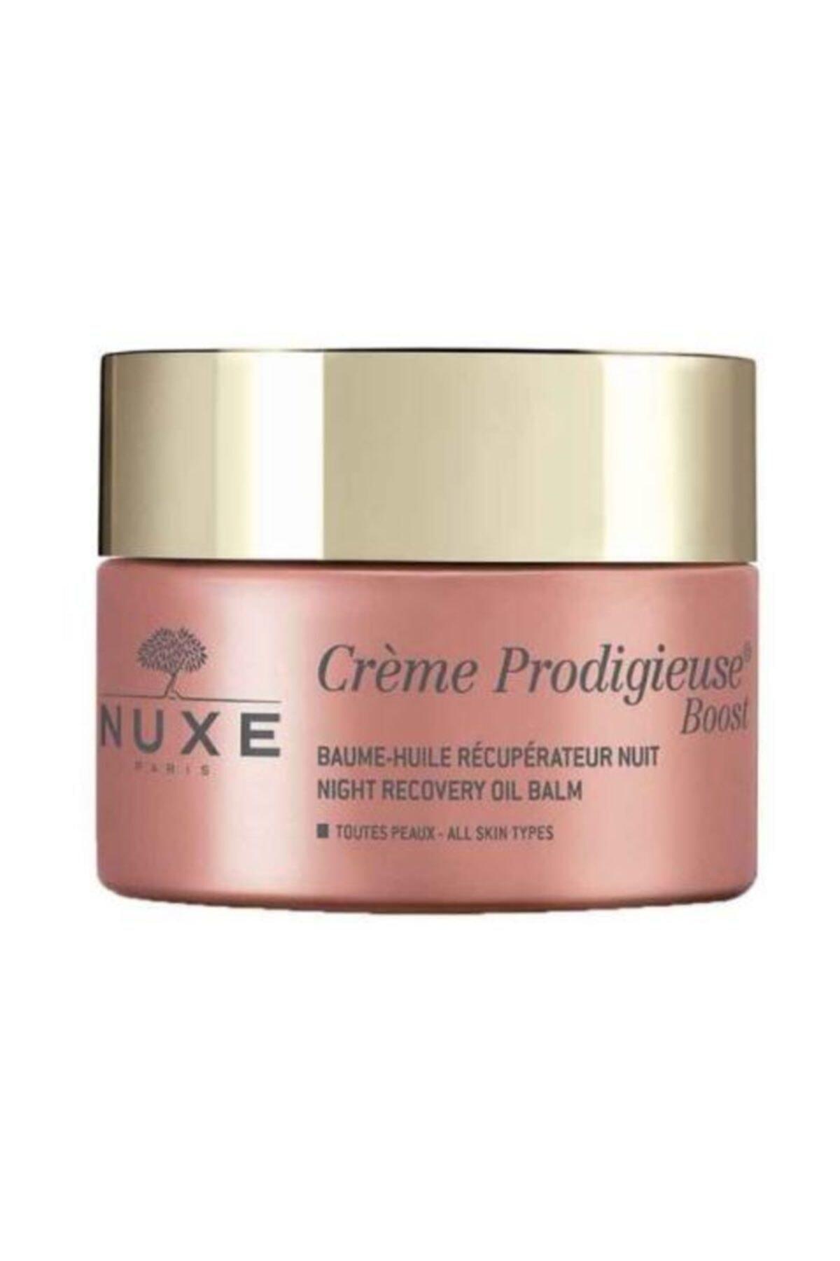 Nuxe Tüm Cilt Tipleri Için Gece Balsamı - Creme Prodigieuse Boost Night Recovery 50 ml 3264680015854 1