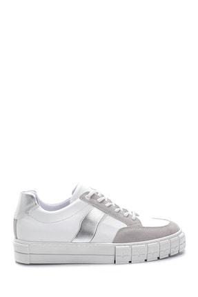 Derimod Kadın Beyaz Bağcıklı Sneaker