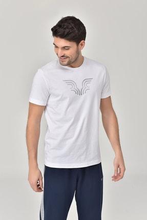 bilcee Beyaz Erkek T-shirt  GS-8814