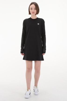 adidas Kadın Elbise - Lace Dress  - FM1758
