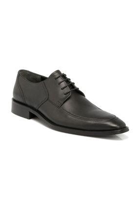 Tergan Hakiki Deri Siyah Deri Erkek Ayakkabı-54167A43