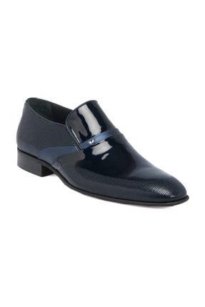 Tergan Deri Lacivert Erkek Ayakkabı