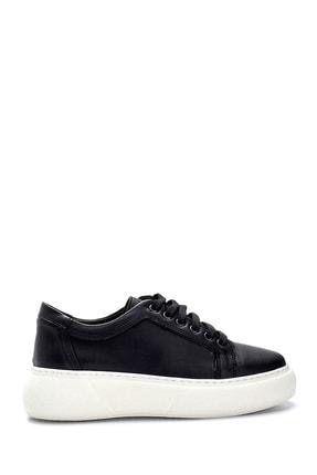 Derimod Kadın Siyah Yüksek Tabanlı Sneaker