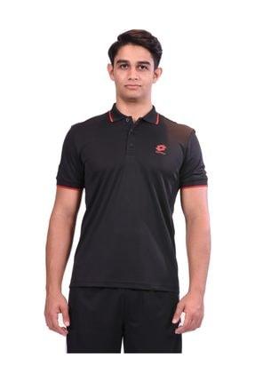 Lotto Polo T-shirt Siyah Erkek - R8326