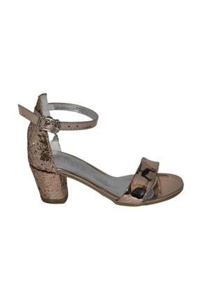 Pandora Patik Abiye Sandalet Bronz 26 801.a.058